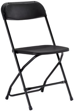 Where to rent CHAIRS, BLACK in Spartanburg SC