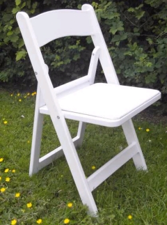 Where to rent CHAIR, WHITE PADDED in Spartanburg SC