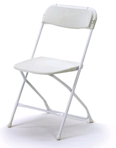 Where to rent CHAIRS, WHITE in Spartanburg SC