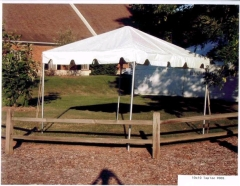 Where to rent 10X10 FIESTA FRAME TENT  4 in Spartanburg SC