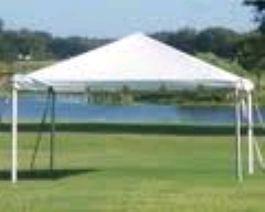 Where to rent 15X15 FIESTA FRAME TENT  4 in Spartanburg SC