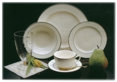 Where to rent GOLD RIM DEMITASSE SAUCER  EACH in Spartanburg SC