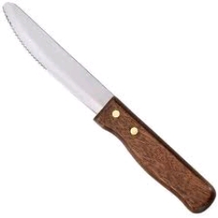 Where to rent WOOD HANDLE STEAK KNIFE- 20 in Spartanburg SC