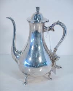 Where to rent TEA POT, SILVER in Spartanburg SC