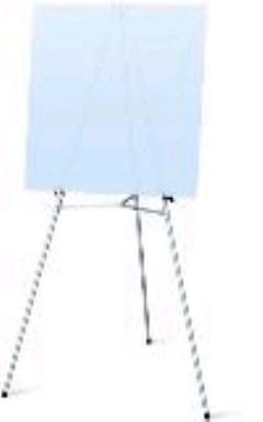 Where to rent EASEL, SILVER FLIP CHART STANDARD in Spartanburg SC