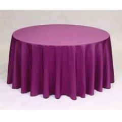 Where to rent 72 X72  OVLY TABLECLTH, PLUM in Spartanburg SC
