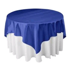 Where to rent 72 x72  OVLY TABLECLTH, ROYALBL in Spartanburg SC