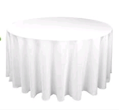 Where to rent 60 x120  TABLECLTH, WHITE in Spartanburg SC