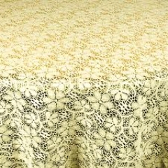 Where to rent 90 X156  TABLECLTH, IVORY LACE in Spartanburg SC