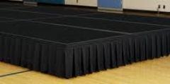 Where to rent STAGE SKIRTING PER FT in Spartanburg SC