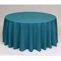 Where to rent 60 X120  TABLECLTH, TEAL in Spartanburg SC