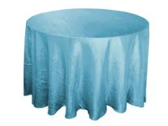 Where to rent 120  TABLECLTH, TURQUOISE BLUE in Spartanburg SC