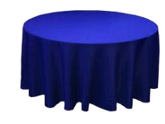 Where to rent 120  TABLECLTH, ROYAL BLUE in Spartanburg SC