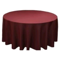 Where to rent 120  TABLECLTH, BURGANDY in Spartanburg SC