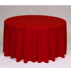 Where to rent 60 X120  TABLECLTH, RED in Spartanburg SC