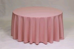 Where to rent 60 X120  TABLECLTH, MAUVE in Spartanburg SC