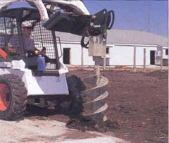 Where to rent AUGER, BOBCAT ATTACHMENT - WITH BIT in Spartanburg SC