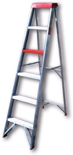 Where to rent LADDER, 8  STEP ALUMINUM in Spartanburg SC