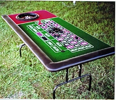Where to rent ROULETTE TABLE W WHEEL in Spartanburg SC