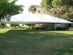 Where to rent 40X55 TRAC FRAME TENT  10 in Spartanburg SC