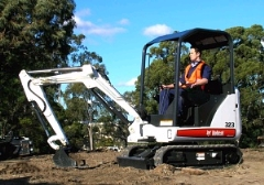 Where to rent MINI EXCAVATOR 324 BOBCAT in Spartanburg SC
