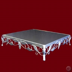 Where to rent WHITE SQUARE CAKE STAND in Spartanburg SC