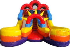 Where to rent WET SLIDE  3 DOUBLE SPLASH in Spartanburg SC