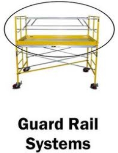 Where to rent SCAFFOLDING GUARDRAIL SET in Spartanburg SC