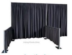 Where to rent PIPE   DRAPE 4  BLACK PER FOOT in Spartanburg SC
