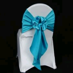 Where to rent CHAIR SASH, TURQUOISE 6 X105 in Spartanburg SC