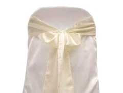 Where to rent CHAIR SASH, IVORY 6 X105 in Spartanburg SC