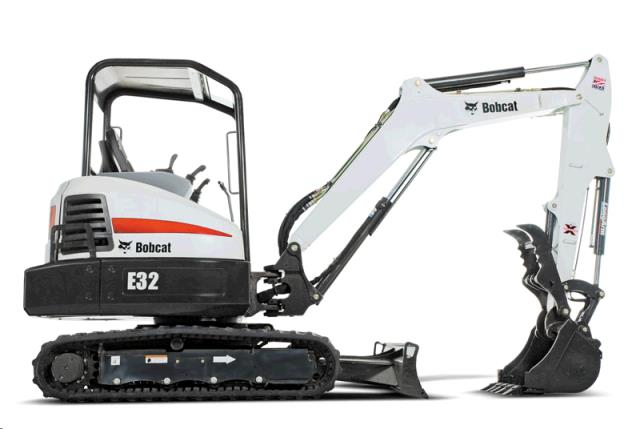 Where to find MINI EXCAVATOR E32 W  THUMB in Spartanburg