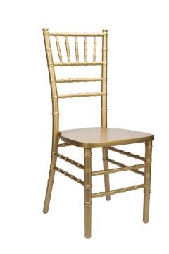 Where to rent CHAIRS, CHIAVARI  GOLD in Spartanburg SC