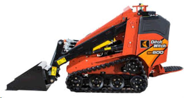 Where to find DITCH WITCH SK600 MINI-TRACK LOADER in Spartanburg