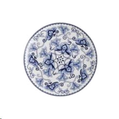 Where to rent DINNER PLATE, INDIGO   WHITE in Spartanburg SC