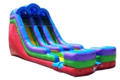 Where to rent WET SLIDE  10 - 18 FT RETRO DUAL LANE in Spartanburg SC