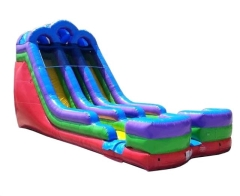 Where to rent WET SLIDE  11 - 18 FT RETRO DUAL LANE in Spartanburg SC
