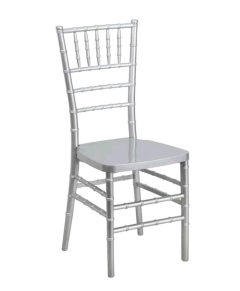 Where to rent CHAIRS, CHIAVARI  SILVER in Spartanburg SC