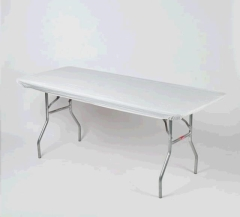 Where to rent 8 X30  KWIK-COVERS TABLECLOTH, WHITE in Spartanburg SC