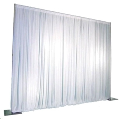 Where to rent DRAPE, WHITE 8  TALL  1 SECTION in Spartanburg SC