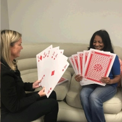 Where to rent GIANT PLAYING CARDS   POKER CARDS GAME in Spartanburg SC