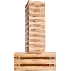 Where to rent GIANT JENGA DELUXE TOWER GAME SET in Spartanburg SC
