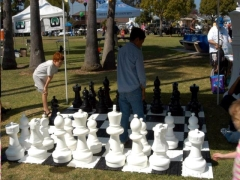 Where to rent GIANT CHESS SET W MAT, 25  PLASTIC in Spartanburg SC